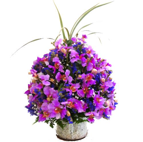 arreglo orquideas irania floristeria