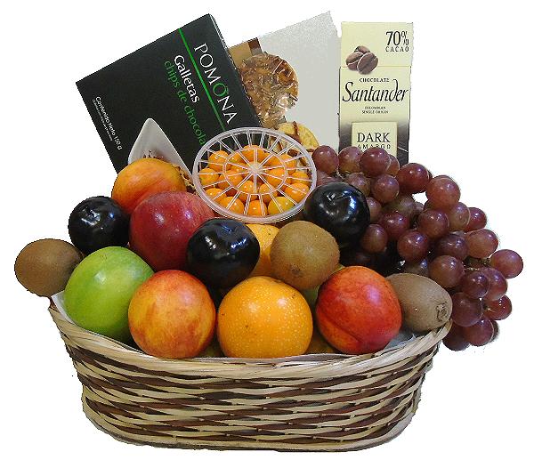 Galletas y Frutas irania floristeria.